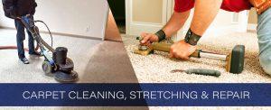 Carpet Cleaning, Stretching & Repair
